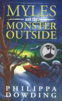 Book cover for Myles and the Monster Outside
