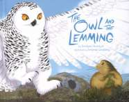 Book cover for The Owl and the Lemming