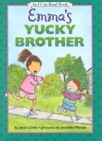 Book cover for Emma's Yucky Brother