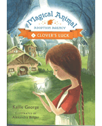 Book cover for Clover's Luck (Magical Animal Adoption Agency, #1)