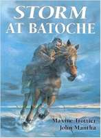 Book cover for Storm at Batoche