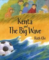 Book cover for Kenta and the Big Wave