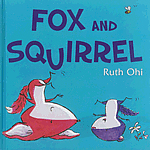 Book cover for Fox and Squirrel