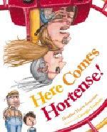 Book cover for Here Comes Hortense