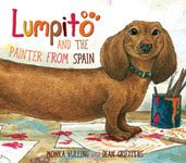 Book cover for Lumpito and the Painter from Spain
