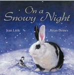 Book cover for On a Snowy Night