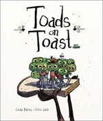 Book cover for Toads on Toast