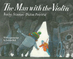 Book cover for The Man with the Violin
