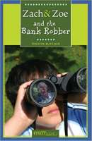 Book cover for Zach & Zoe and the Bank Robber