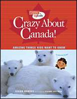 Book cover for Crazy About Canada!