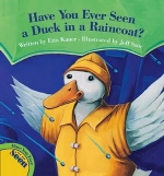 Book cover for Have You Ever Seen a Duck in a Raincoat?