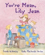 Book cover for You're Mean, Lily Jean