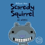 Book cover for Scaredy Squirrel