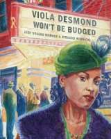 Book cover for Viola Desmond Won't be Budged
