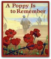 Book cover for A Poppy is to Remember
