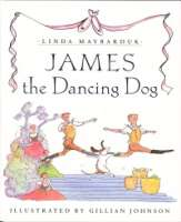 Book cover for James the Dancing Dog