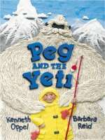 Book cover for Peg and the Yeti
