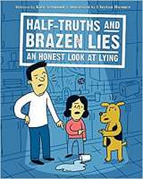 Book cover for Half-Truths and BRAZEN LIES