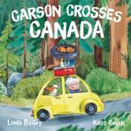 Book cover for Carson Crosses Canada