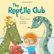 Book cover for The Reptile Club