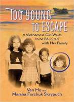 Book cover for Too Young to Escape