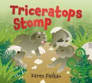 Book cover for Triceratops Stomp