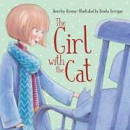 Book cover for The Girl with the Cat